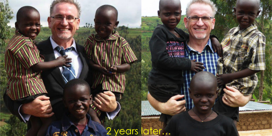brian thomson in rwanda home of hope hoh homeofhope africa sponsor child children grandpa donate charity director founder red deer alberta canada